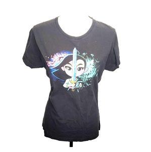 Disney Mulan Top Tee Shirt Large Princess Warrior